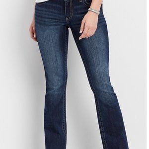 Maurice's Curvy Bootcut Jeans Size 5/6